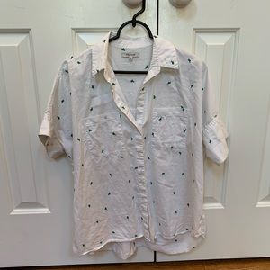 Madewell Cactus Courier Button Shirt